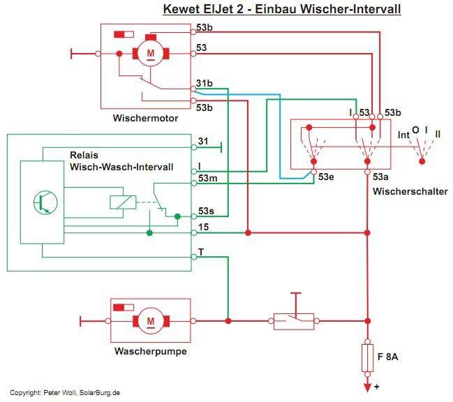 Wunderbar Wischermotor Schaltplan Galerie - Der Schaltplan ...
